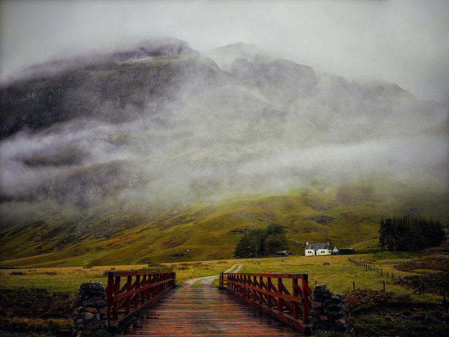 landscapelifescape:  Glencoe, Scotland Scottish Weather by KENNY BARKER