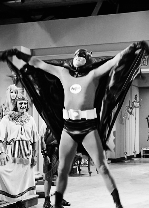 Adam West as Batman, 1960s
