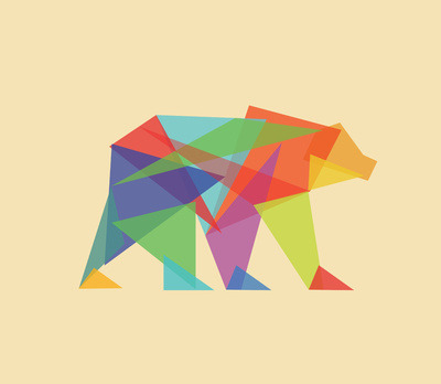Fractal Geometric Bear / more art here
