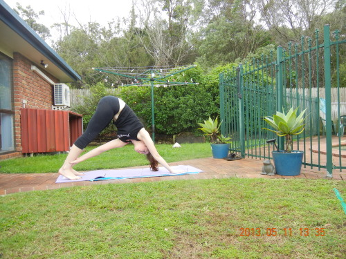 sassyyogini:  my favie variant of downward facing dog