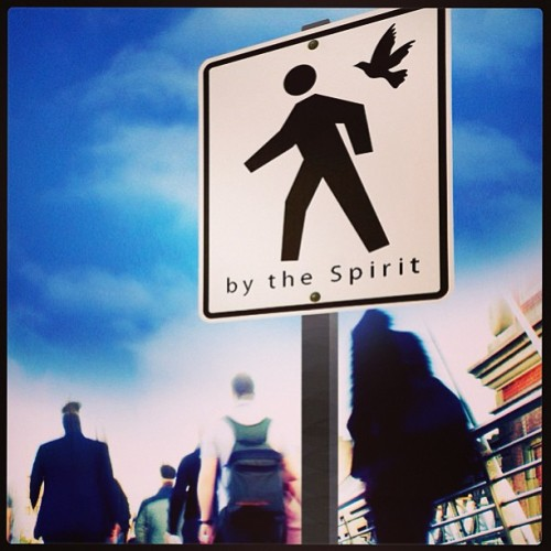 What does it mean to walk in the Spirit ??Walk in the spirit is to follow the spirit leading. It's is essentially to 'walk with ' the spirit, allowing him to guide your steps and conform your mind.  Believers have the spirit of Christ, the hope of glory within them #colossians1:7 . Those who walk in the spirit will show forth daily , moment by moment holiness. We can show that we are walking in the spirit if our lives are showing forth the fruit of the spirit which is love, joy , peace, patience , kindness, goodness, faithfulness, gentleness , and self control  #galatians5:22-23 . Being filled ( walking ) with the spirit is the same as allowing the Word of Christ  (#thebible) to richly dwell in us #colossians3:16 . The result is thankfullness, singing and joy #ephensians5:18-20. ; #colossians3:16. #JesusChrist #holyspirit #bible #verse #God #messiah #JesusIsWithMe