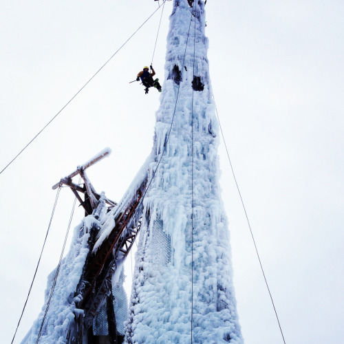 Peabody Ice Climbing Club, December 2012