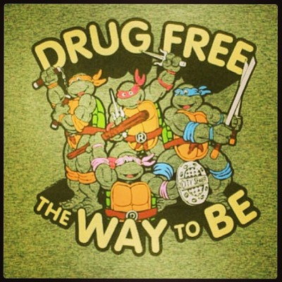 Teenage mutant ninja turtles !! #drugfree #sXe #straightedge repost from @carinarina  (på Huddinge Pizzabutik)