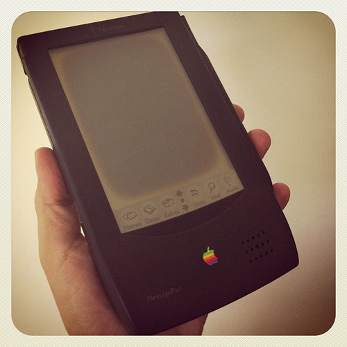 Una reliquia geek: mi Newton Message Pad :)