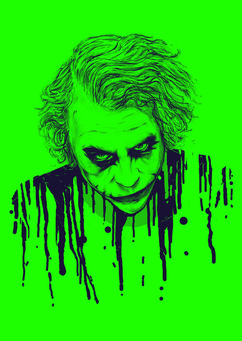 The Joker Products here > http://society6.com/nicebleed/The-Joker-HTp_Print