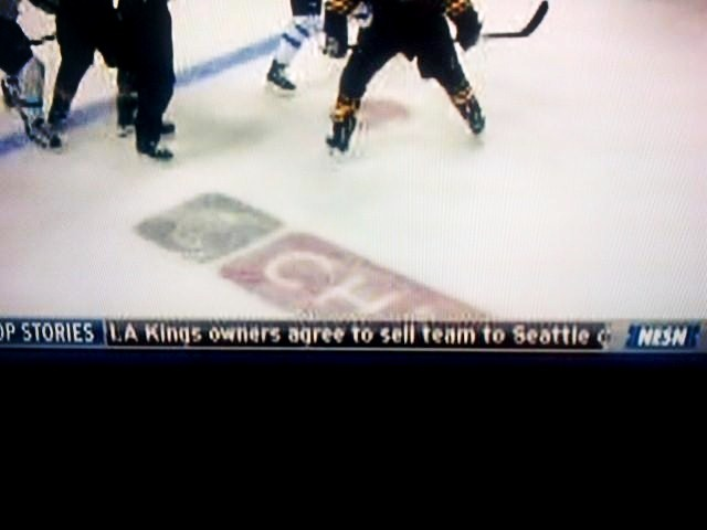 Pic: This is BAD news if you're a fan of the L.A. Kings. NESN mixes up L.A. and Sacramento once again.