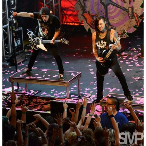 Vic and Tony rocking out