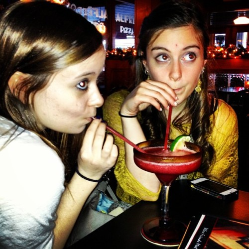 That awkward moment when there's two twelve year olds drinking a margarita @laa92