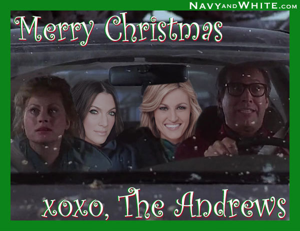 Better late than never.  Christmas card from the Andrews'.