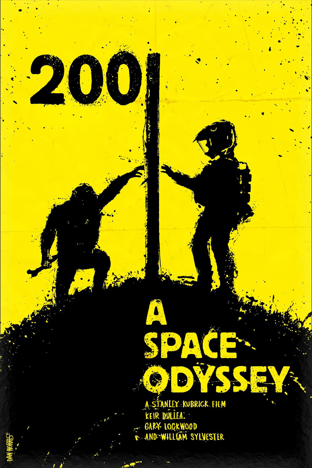By Daniel Norris : 2001 A Space Odyssey by Stanley Kubrick (1968)