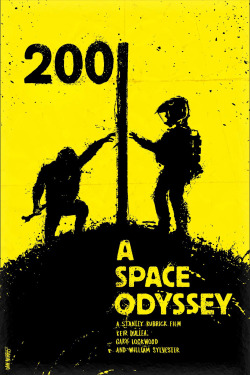 iznogoodgood:  By Daniel Norris : 2001 A Space Odyssey by Stanley Kubrick (1968)
