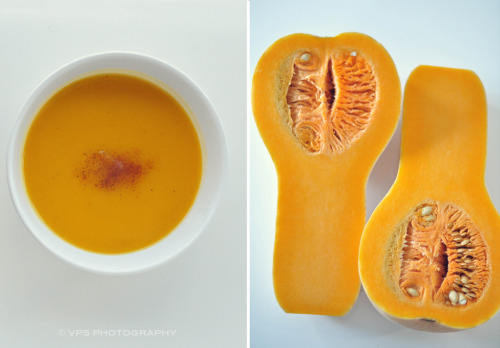 cutesyfood:  Butternut Squash Soup (by veronikaa)