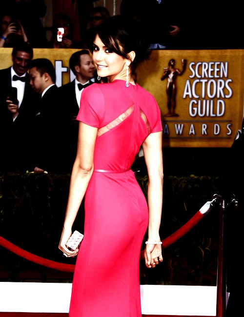 Nina at SAG Awards. Like a Indian princess.