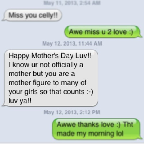 This #text totally made my morning :)