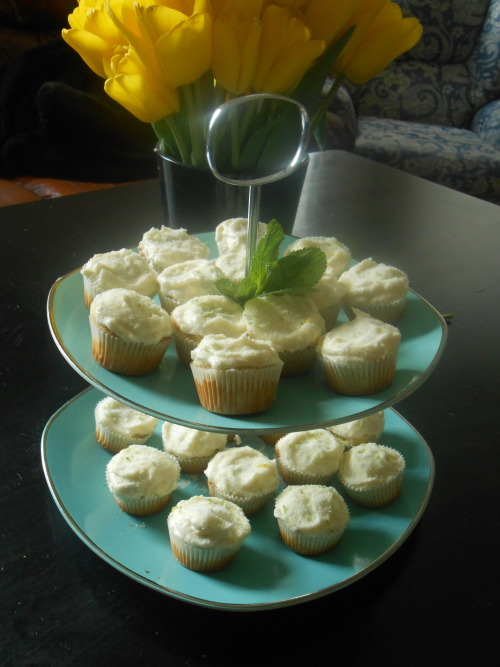 May 2013- Mini mojito morsels
