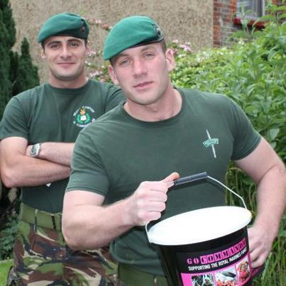 marquesate:  Royal Marines fundraising for the Go Commando charity.
