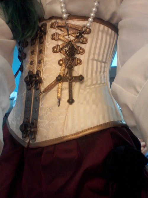 thecorsetauthority:  marsaham:  I'm just really excited about my new corset okay  Understandable. ~Clair  Love!!!