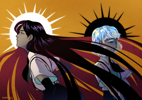 kimi arts houseki no kuni land of the lustrous 宝石の国 bortz dia my favorite disfunctional couple who are literally made for each other but can& 039;t communicate hnk fan art