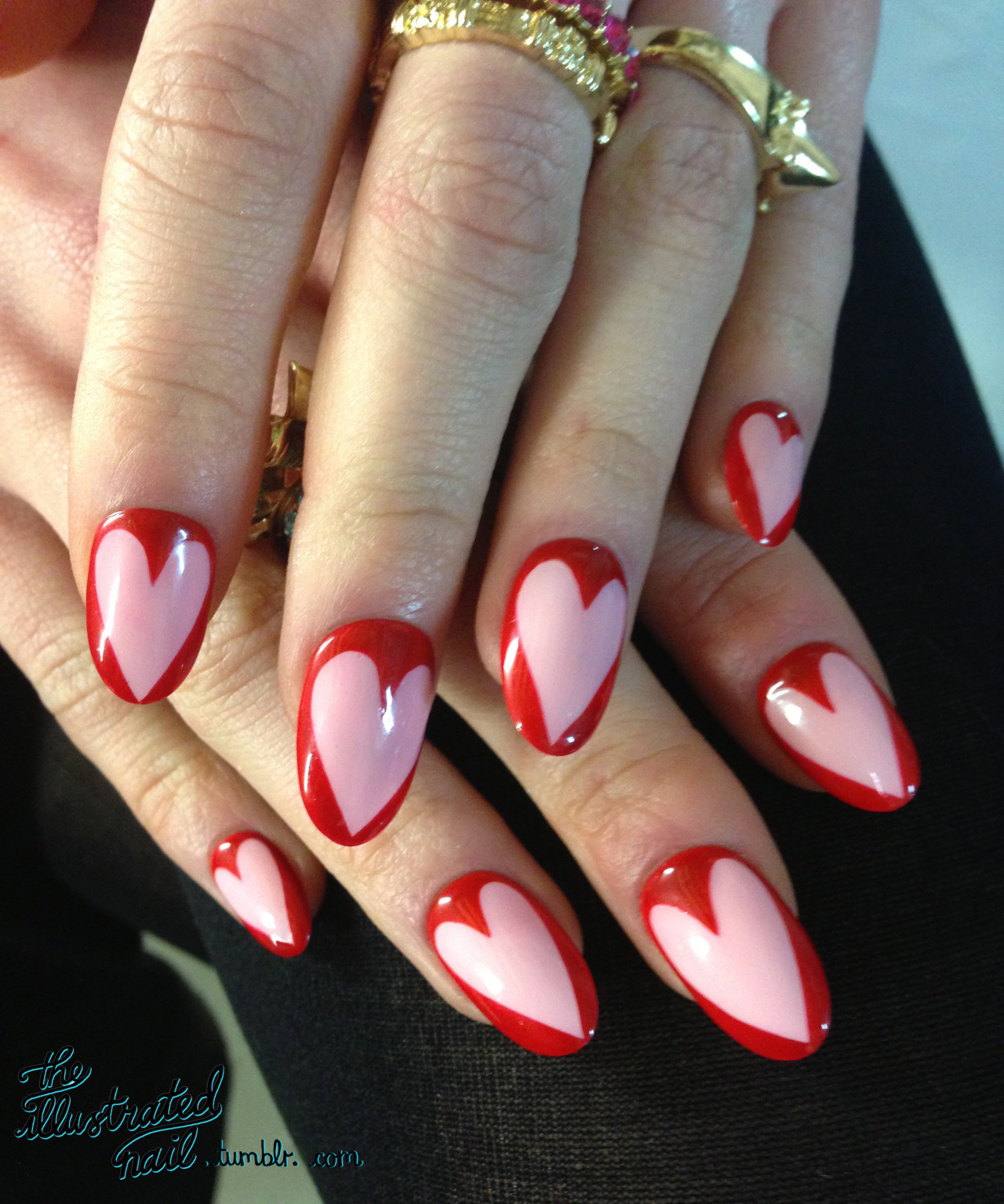 theillustratednail:  Nail He(art)…