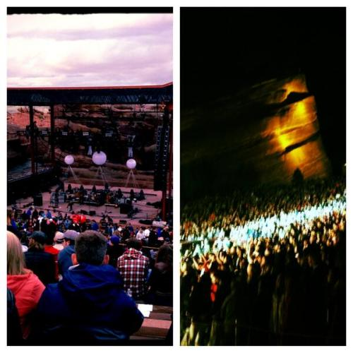 Vampire Weekend at Red Rocks last night was one of the best spontaneous ways to spend one of my last nights in Colorado.  I haven't danced that much in my life. At once.  Also guess what guys it only took about 3.5 years but I finally like Contra. So I finally feel fulfilled as a Vampire Weekend fan.