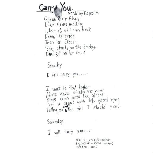 Carry You, by Dispatch.