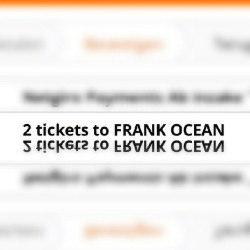 Life is perfect #frank #frankocean #tickets #concert #hmh