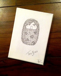 a tiny tree beard to brighten up your day. by accordion apparel. click to buy here