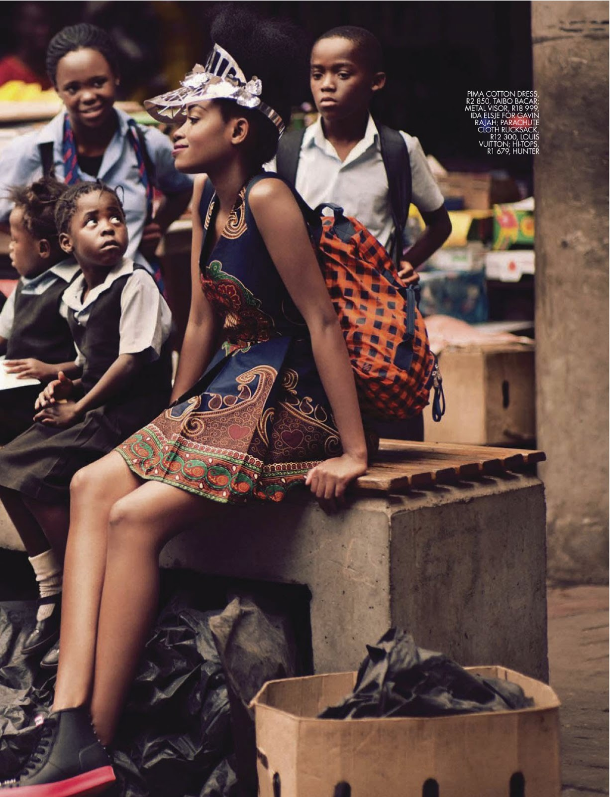 devoutfashion:  Sharleen Dziire For Elle South Africa January 2013