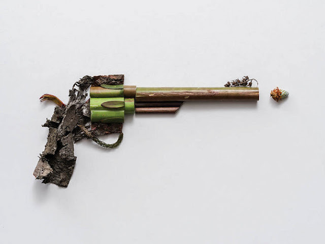 Harmless Weapons Crafted from Organic Materials