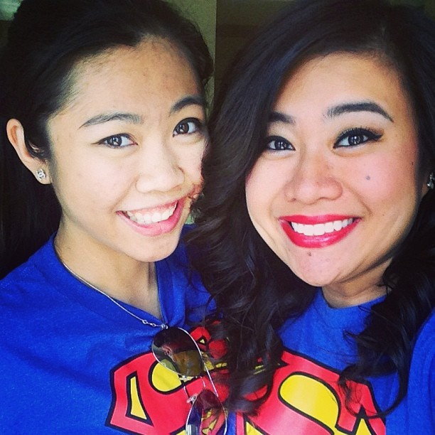 My #partner in #crime 💗 #loveher #girlfriend #bestie #superman #summer #bff @ericachau26