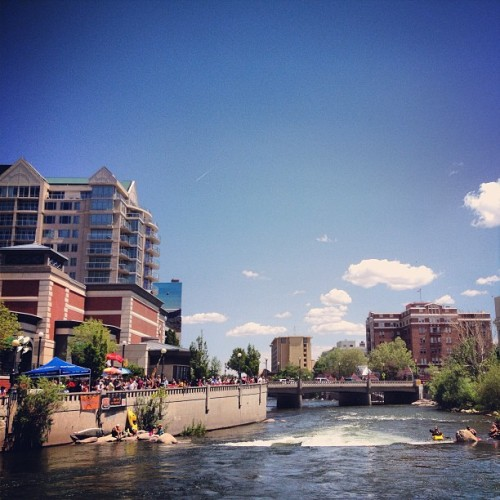 Great day @reno_river_festival. #Reno #RiverFest #nvmag  (at Riverwalk)