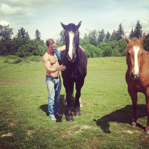 Yesterday's shoot in Langley BC. Not not an Equus themed shoot ;) more Playgirl Cowboy. More DIXX.