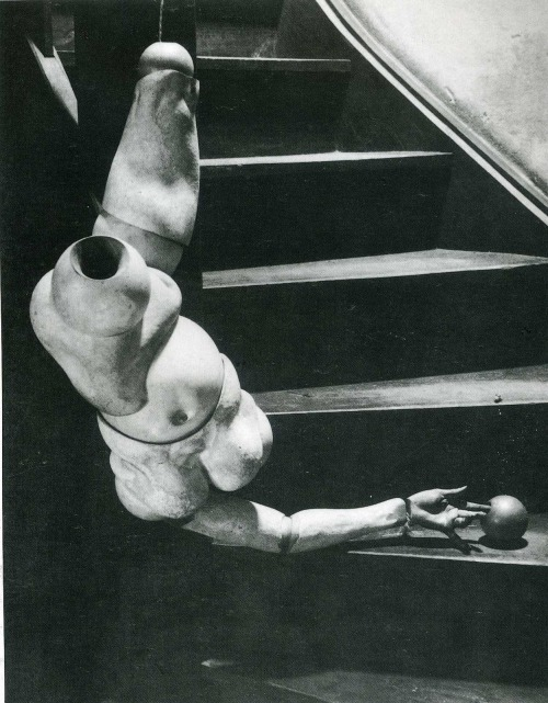 "La poupée by Hans Bellmer ""Inside the doll is empty and she inflicts a tremendous silence.""  — Lotte Pritzel, 1913 Also"