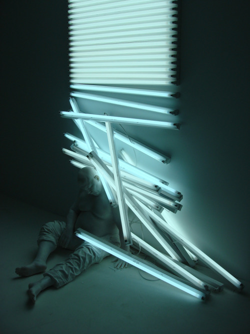 thehighlandrape:  BERNARDI ROIG - Light Dream (2007) Multi-media sculpture, fluorescent lighting. Dimensions Variable.