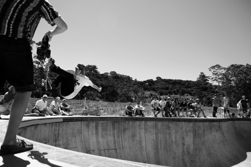 180degreesrotation:  Mangawhai, NZ.  Siiiiick, found this photo of my Fs Air from Mangas Bowl Jam yesterday!