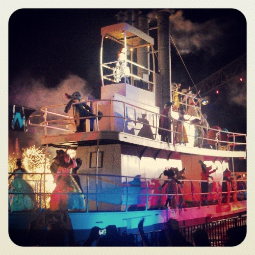 My first Fantasmic! (at Fantasmic!)