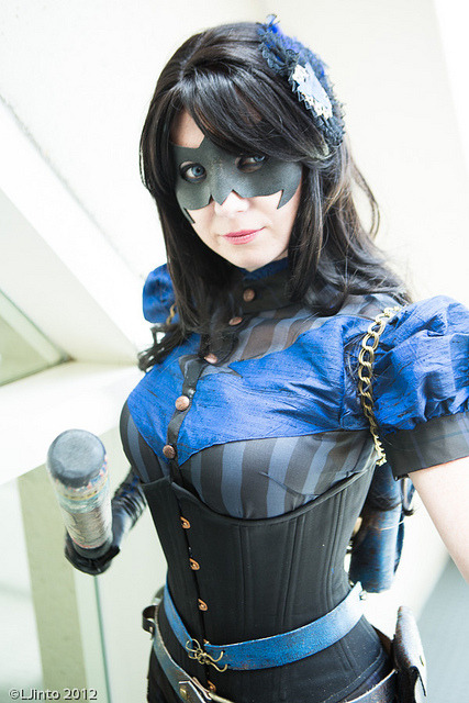 kamisamafr:  Steampunk Nightwing via LJinto  My links (follow me):NIGHTWING /  BATMAN / DC COMICS / COSPLAY . My French speakers, go to : www.dcplanet.fr