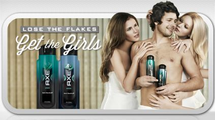 Logos Ad. This ad is trying to tell men that if they buy this product they will be surrounded by women because they will be in love with how they smell. Axe is using logic to to persuade people to buy their product.