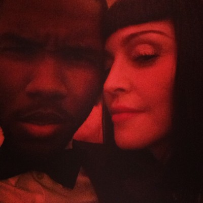 Madonna + Frank Ocean at the 2013 MET Gala…