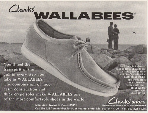 slackersfclac:  Clarks  Love my Wallabees. Apparently, I have the same taste in footwear as Walter White.
