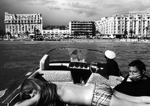 life:  A scene from Cannes during the International Film Festival, 1962. See more photos here.  (Paul Schutzer—Time & Life Pictures/Getty Images)