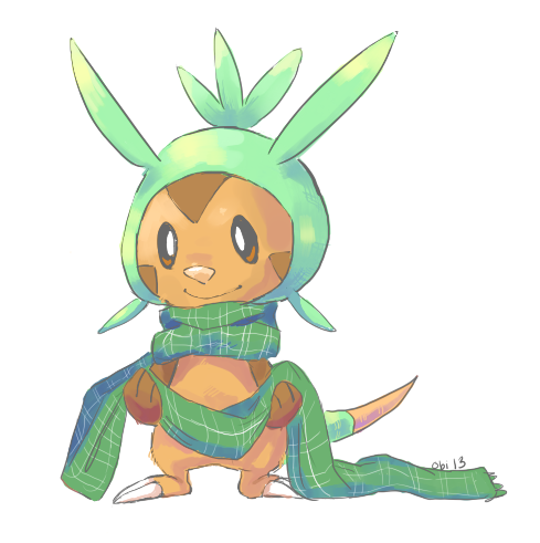 obiton:  Chespin needs to stay warm too   SORRY I WAS GONNA STAY OUT OF THIS BUT I HAVE CHESPIN FEELS
