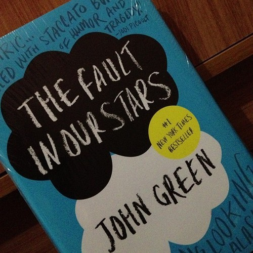 So i finally bought you #thefaultinourstars 😊😊😊😊