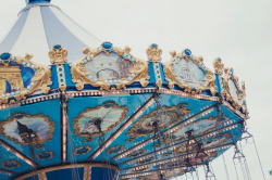 serendipity-precious:  carousel by Rebecca Victoria Fexby on Flickr.