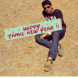 Happy Tamil New year :-) Happy Sunday :-)