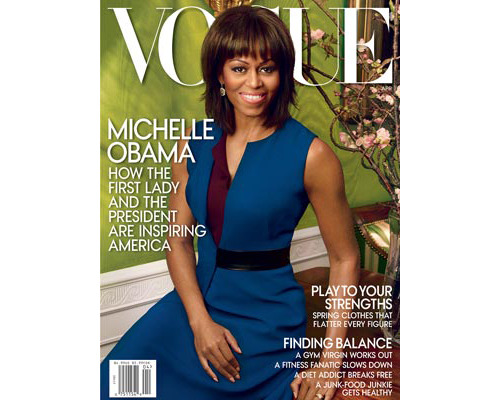 Michelle Obama On Her Second Vogue Cover, Allison Williams' Best Skincare Tips, and More Dressed in Reed Krakoff, Michelle Obama graces the cover of Vogue for a second time. [Refinery29] A St. Patrick's Day makeup look that isn't too green. [Her Campus] The 50 most innovative wellness-related startups. [Greatist] Why processed foods are more dangerous than you think. [Q] FYI: Oxygen is the hottest beauty industry buzzword right now. [SheFinds] Five absolutely stunning eye makeup looks to try for spring. [Beauty High] Allison Williams dishes on her beauty routine and her favorite products to The New York Times. [T Magazine] —Charisse Learn how to match your lipstick to your mood with this colorful guide. (Photo: Vogue)