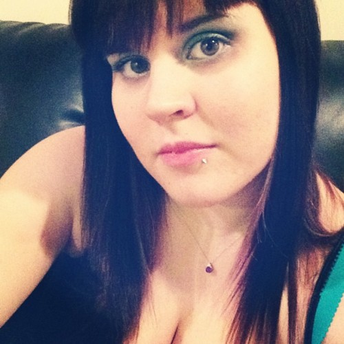 fuckyeahfluffies:  Showing off my beautiful necklace :) #selfshot #sephora #wetnwild #makeup #amethyst #jewelry
