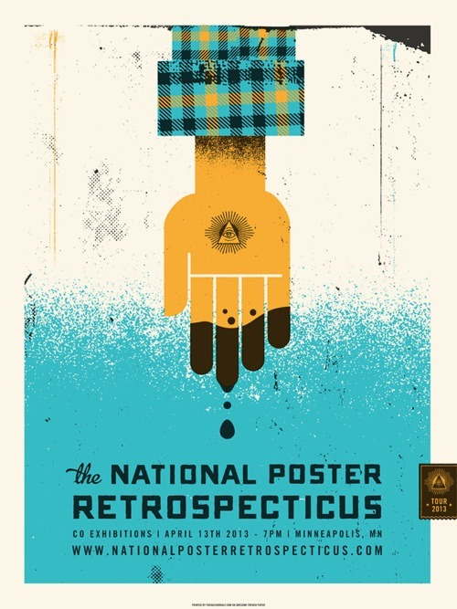 visualgraphic:  The National Poster Retrospecticus