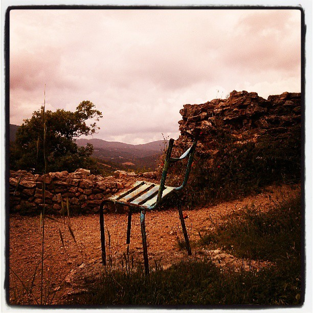 #lost #chair #grimaud #var #france
