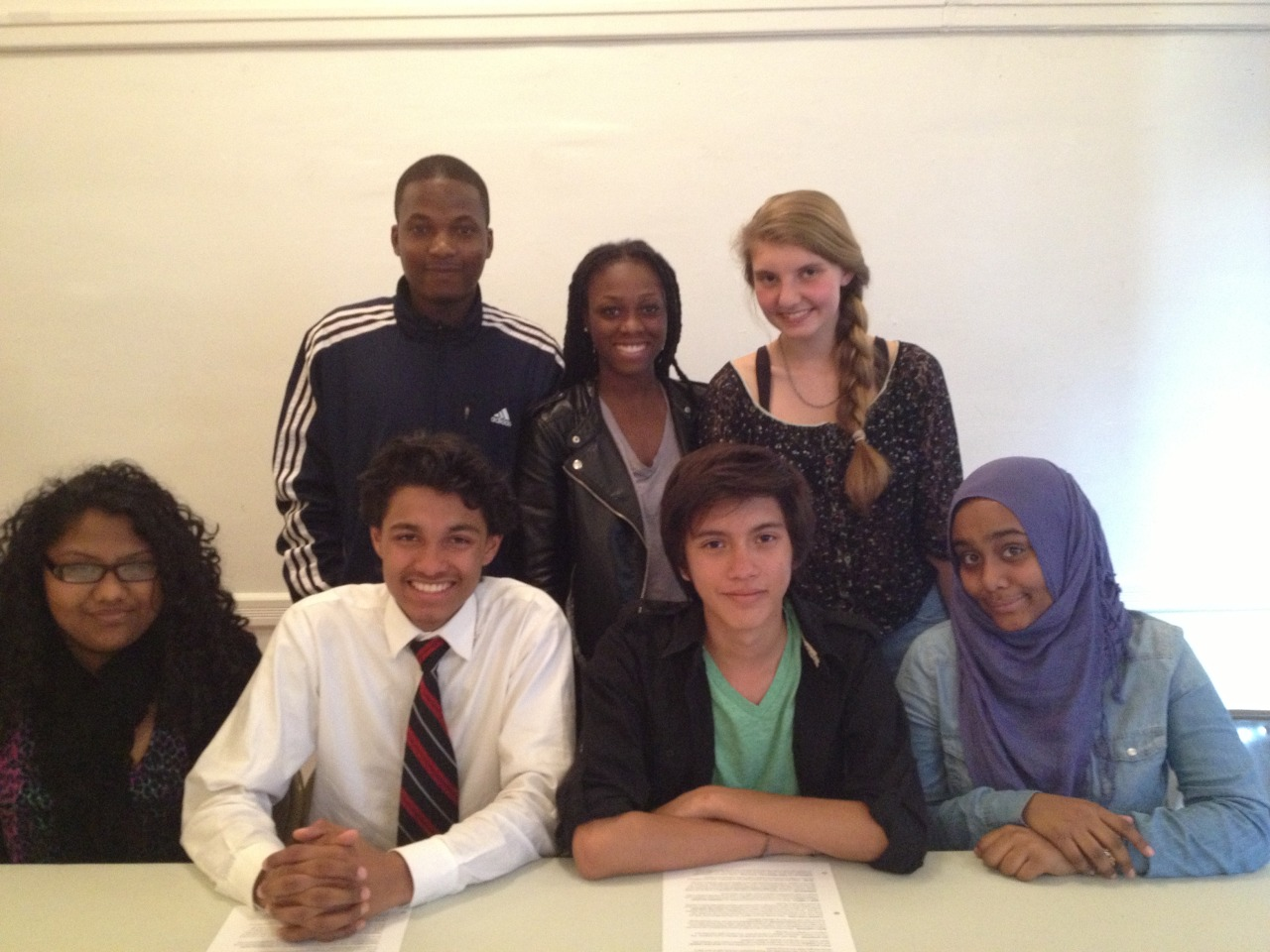 Hard at work planning NYC's first ever Youth-Led Mayoral Debate!